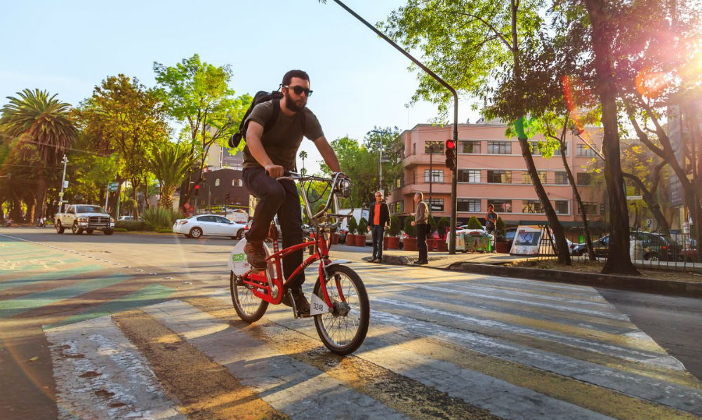 El peligro de andar en bici