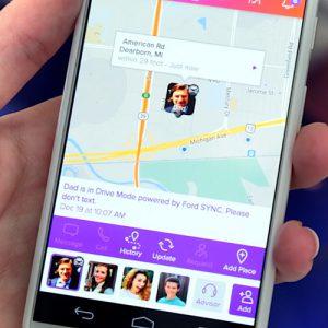 App para localizar personas