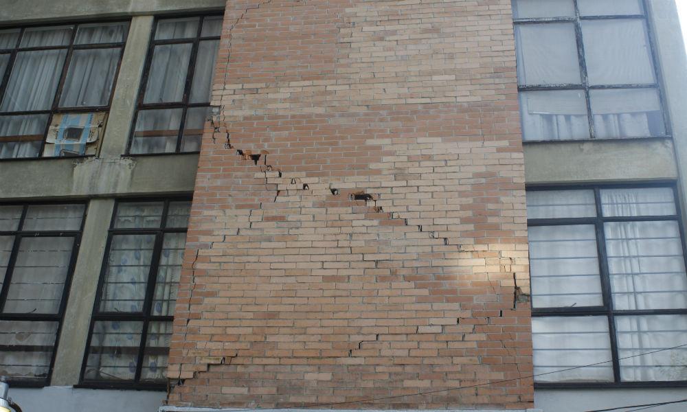 Revisar edificios dañados por sismo, CDMX