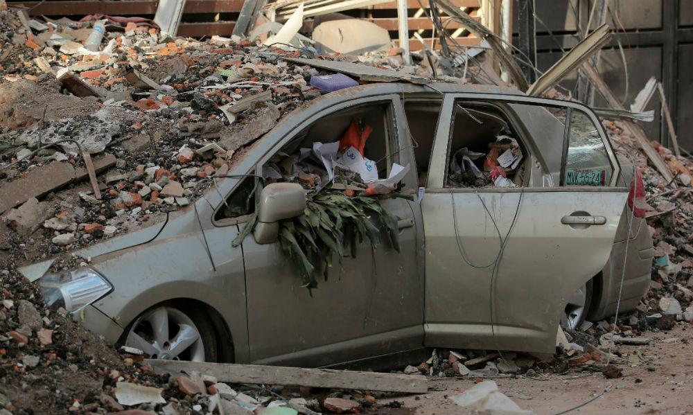 ¿Tu auto se dañó durante el sismo?