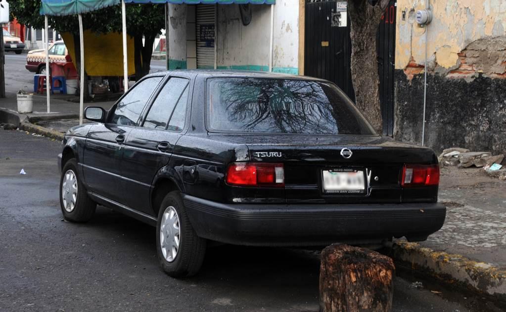 Los autos más robados en México 2017