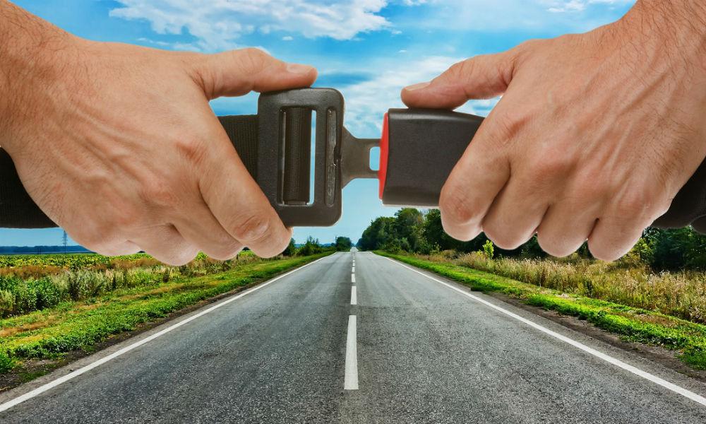 Importancia de usar cinturón de seguridad
