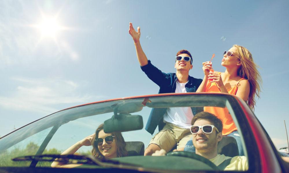 Viaja seguro con tus amigos el fin de semana